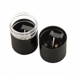 Black Round Sharpener Large